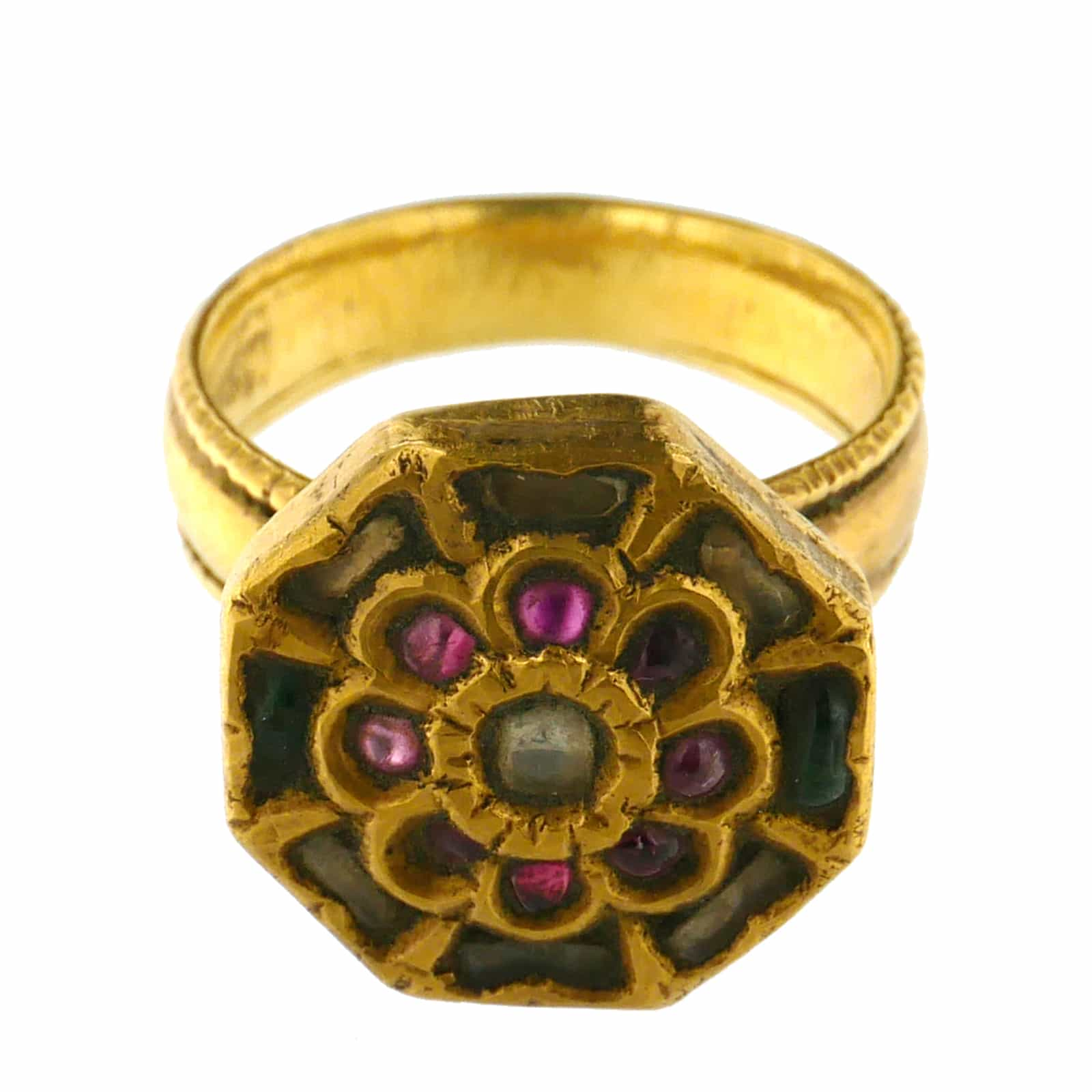 Indonesian Antique Gold Ring